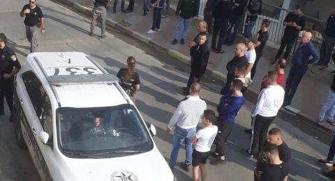 إطلاق نار على دورية شرطة في دير الأسد