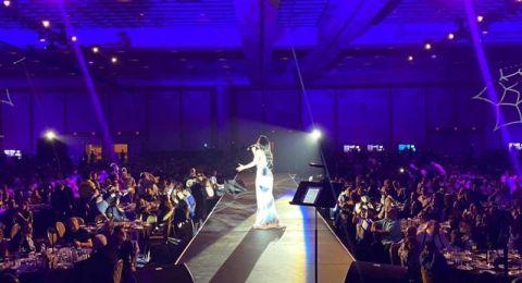 جوهرة الطرب العربي ديانا كرزون تتألق في لاس فيجاس وسط حضور تجاوز 3 الاف
