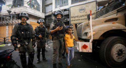 في يوم حقوق الطفل: الاحتلال اعتقل 745 طفلًا منذ بداية 2019