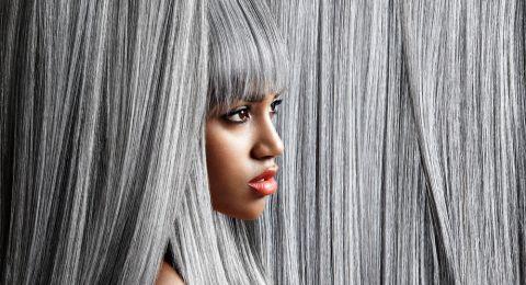 صبغة الشعر الرمادي موضة رائجة جداً... اختاريها بدرجات مختلفة