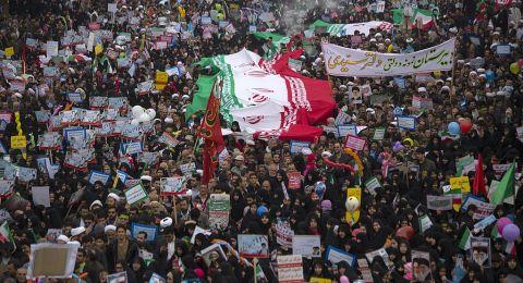 العفو الدولية: مقتل 106 متظاهرين في احتجاجات إيران