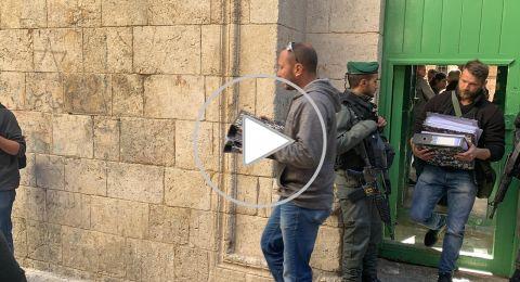 القدس: الشرطة تعتقل موظفي ومراسلي شركة الارز للانتاج وتغلق مكاتبها