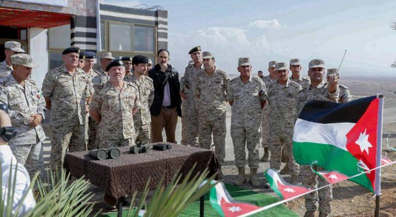 ملك الأردن يزور الغمر بعد نحو أسبوع على استعادتها من إسرائيل