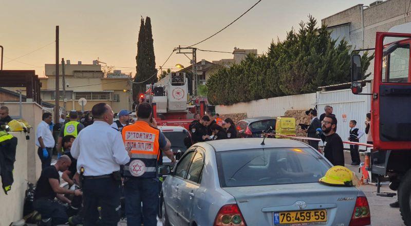 نتانيا: مصرع طفلين(3 و5 سنوات) واصابة والديهما في حريق