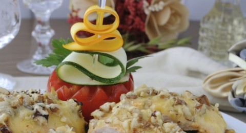 وجبة اليوم: فيليه الدجاج المحشو بالجبن