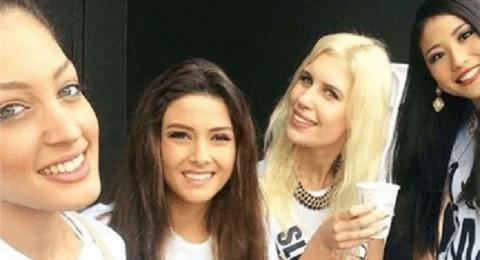 ملكة جمال لبنان تروي قصة الـSelfie مع ملكة جمال إسرائيل