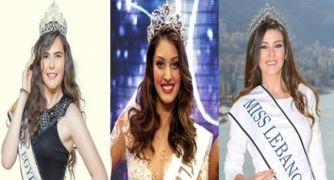 بعد ملكة جمال لبنان.. ها هي ملكة جمال مصر مع الملكة الاسرائيلية ولكن!!