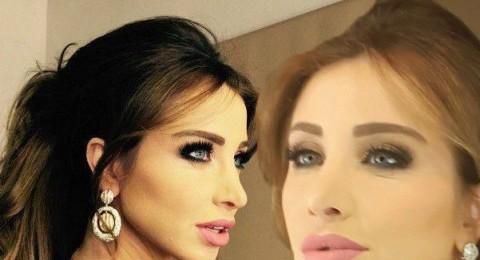 """أنابيلا هلال في """"لوك"""" جديد.. رموش كثيفة وتسريحة شعر جديدة"""