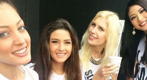 سيلفي تجمع بين ملكة جمال لبنان واسرائيل… وسالي جريج تبرر!
