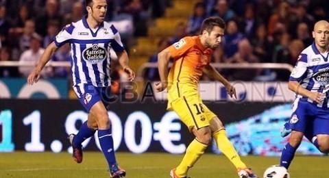 ميسي يقود برشلونة لسحق ديبورتيفو والضغط على صدارة ريال مدريد
