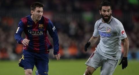 ميسي يقود برشلونة للتغلب على أتلتيكو بصعوبة