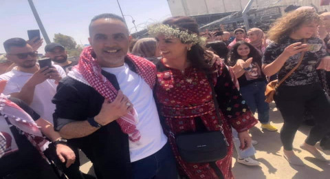 الأسير عاصم كعبي حر بعد 18 عاماً من الأسر