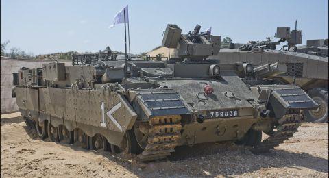 الجيش الاسرائيلي يبدأ مناورات عسكرية واسعة بغلاف غزة اليوم