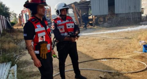 قرار بحظر  اشعال النيران من 27.04.21 وحتى 02.05.2021