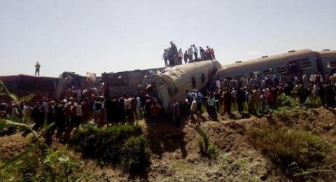 11 قتيلا ونحو مائة جريح في حادث قطار جديد في مصر