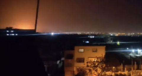 الجيش الاسرائيلي يعترف بفشل اعتراض الصاروخ السوري الذي سقط في النقب
