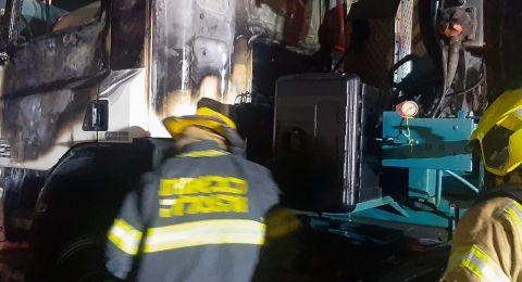اندلاع عدّة حرائق في منطقة وادي عارة الليلة الماضية وفجر اليوم