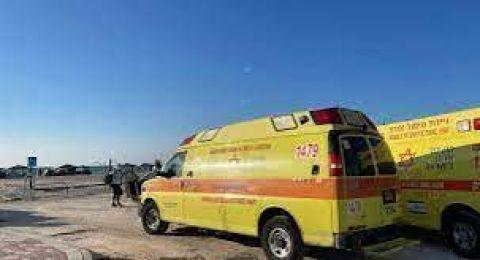 النقب: اصابة خطيرة لطفل (عامان)