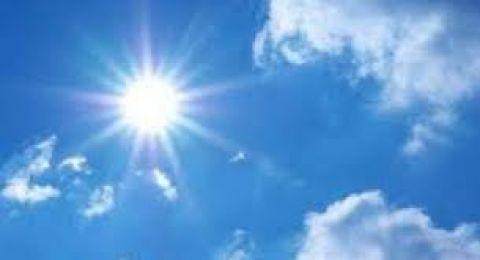 حالة الطقس: ارتفاع ملموس وأجواء شديدة الحرارة