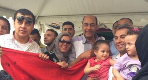 أحمد بدير يصوت للسيسي بالرياض