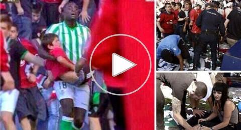 انهيار حاجز في ملعب أوساسونا يؤجل صراع الهبوط بالدوري الاسباني