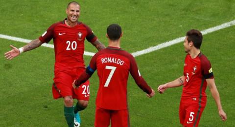 رونالدو أفضل لاعب في لقاء البرتغال والمكسيك