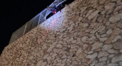 اصابة خطيرة لطفل (10 سنوات) اثر سقوطه في يافة الناصرة