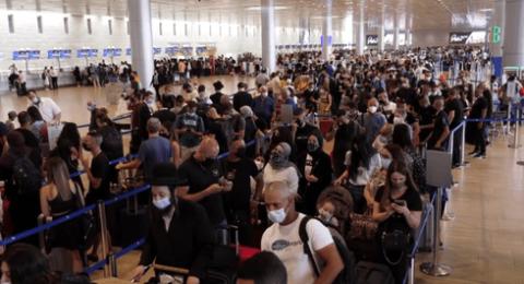 دون اكتراث.. 34500 مسافر عبر مطار بن غوريون