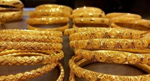 اسعار الذهب عن ادنى سعر لها في اسبوع
