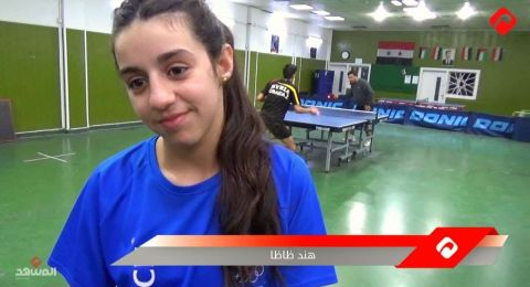 طوكيو 2021: لاعبة كرة الطاولة هند ظاظا سورية من عمر الحرب تغزو العالم