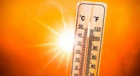 حالة الطقس: ارتفاع آخر والحرارة أعلى من معدلها بـ 8 درجات
