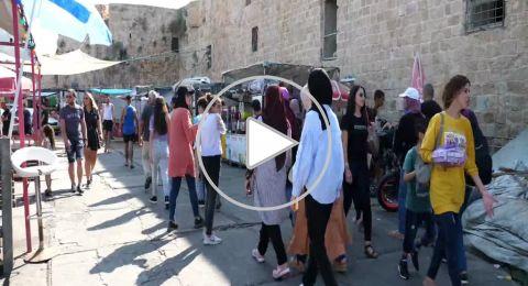 تقرير: عكا تفتح ابوابها لأستقبال المحتفلين بالعيد