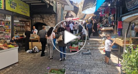 قبيل عيد الأضحى .. الأوضاع الاقتصادية والسياسية تلقي بظلالها على أسواق القدس