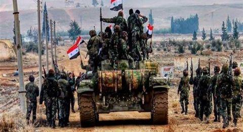 الجيش السوري ينتشر في بعض أحياء خان شيخون الشمالية