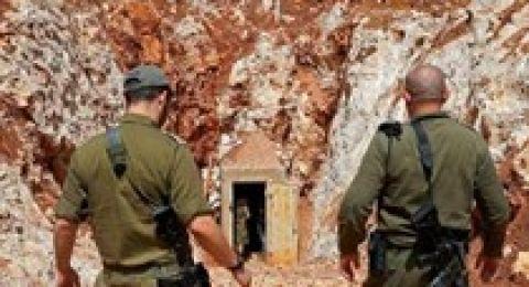 ضابط وجنود اسرائيليين يتسللون الى داخل لبنان
