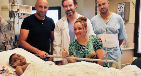 بادرة إنسانية: حسام طريف يتبرع بجزء من كبده لإنقاذ طفل أردني