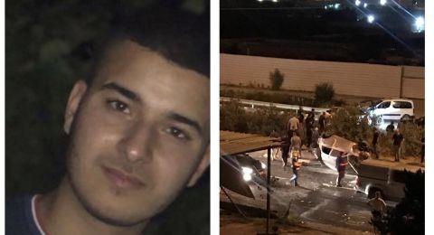 الطيبة: مصرع الشاب تامر حاج يحيى بحادث طرق مروع