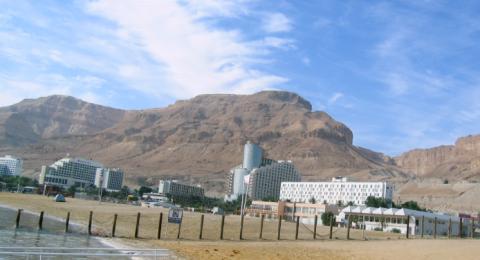 فضيحة فنادق اسرائيلية بالبحر الميت