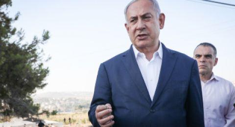 نتنياهو: لن نتردد في شن معركة واسعة ضد قطاع غزة