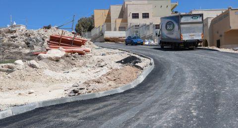 مياهكم ينفذ البنية التحتية لشارع 61 في المشهد