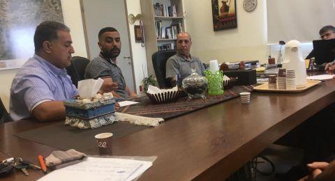 ام الفحم: اجتماع بين رئيس البلديّة وعدد من الرياضيين لبحث وحدة فرق الشبيبة