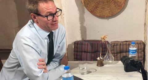 السفير البريطاني في اسرائيل لـ