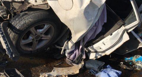 حادث طرق في النقب: مصرع شخص، واصابة 8 آخرين