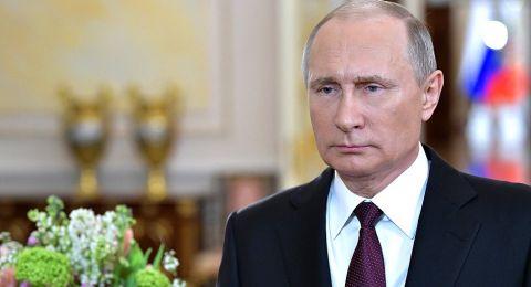 بوتين: روسيا تدعم جهود الجيش السوري للقضاء على الإرهابيين في إدلب