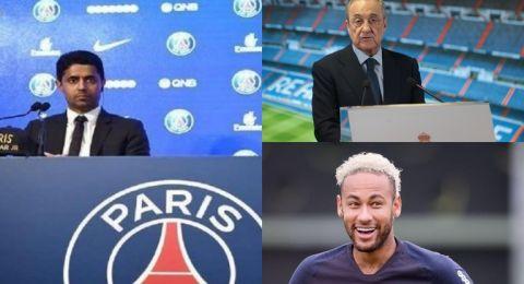 باريس سان جيرمان يرفض عرضا ضخما من ريال مدريد لضم نيمار