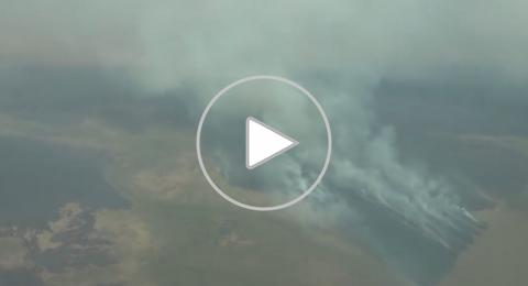 الرئيس البرازيلي يتهم ماكرون بالتصدي لحرائق الأمازون
