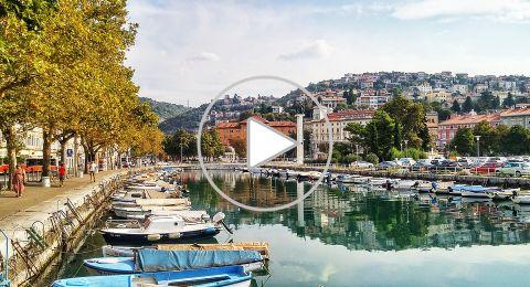 استكشاف كرواتيا من رييكا الساحلية