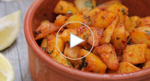 مقبلات البطاطس الحارة بالفيديو
