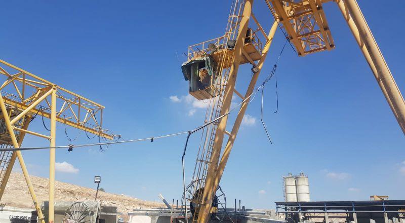 مصرع عامل شاب بورشة بناء في ميشور أدوميم