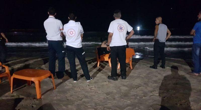 غرق شاب في تل أبيب